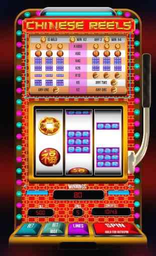 Chinese Reels Slots Pokies 1