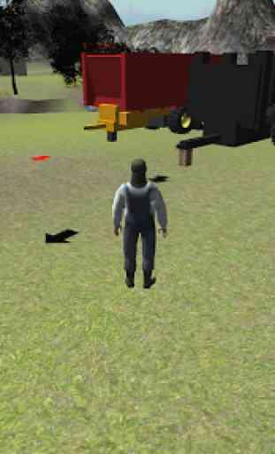 Farming 3D: Tractor Parking 1