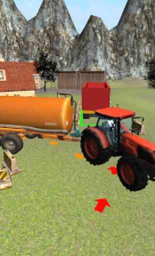 Farming 3D: Tractor Parking 2