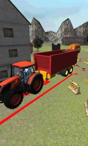 Farming 3D: Tractor Parking 4
