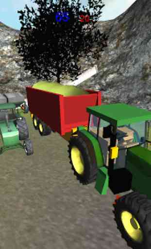 Ferme ensilage Transporteur 3D 1