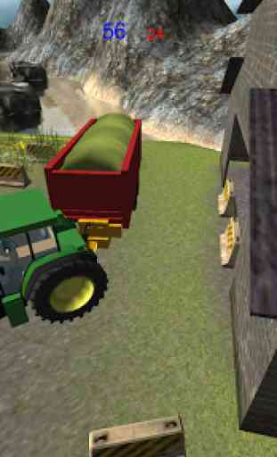 Ferme ensilage Transporteur 3D 2