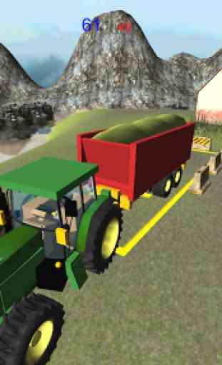 Ferme ensilage Transporteur 3D 4