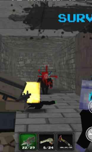 Pixel Z World 3D -Gun & Gunner 4