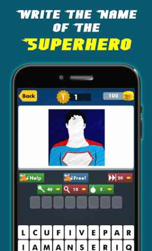 SuperHero Games Comics Quizzes 1
