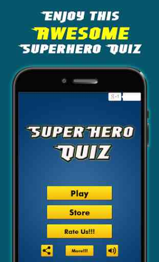SuperHero Games Comics Quizzes 2