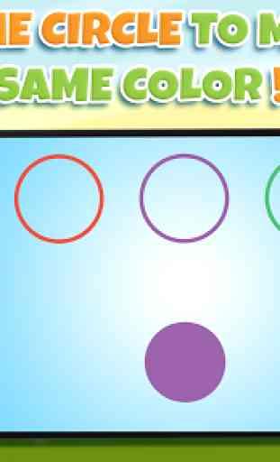 Apprendre les couleurs 3