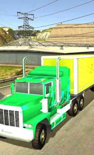 Camion Transport Parking Mania 2