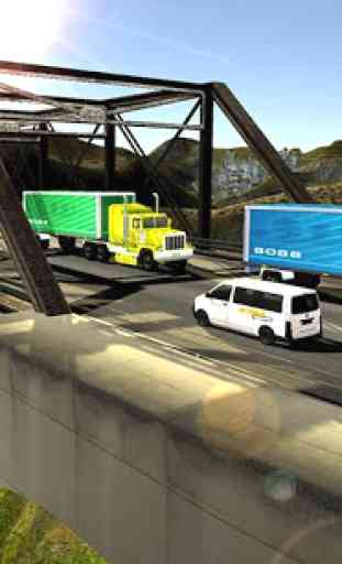 Camion Transport Parking Mania 4