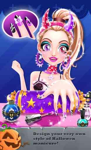 Emma's Halloween Makeup Party 3