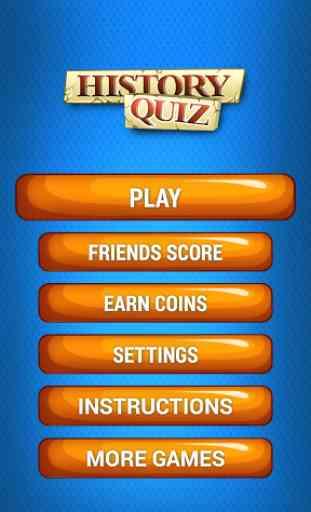 History Quiz Jeu 1