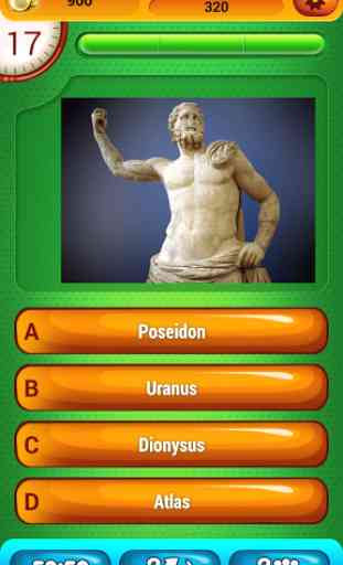 Mythologie Grecque Jeu Quiz 4