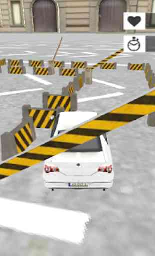voiture parking simulation 3D 3