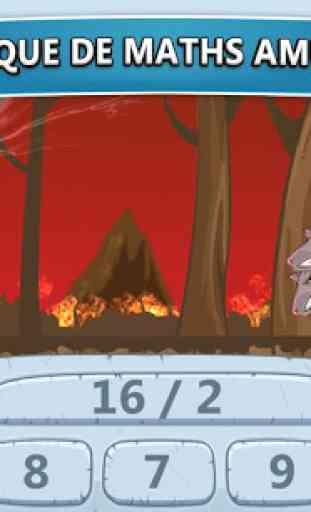 Jeux de maths Zeus vs monstres 2