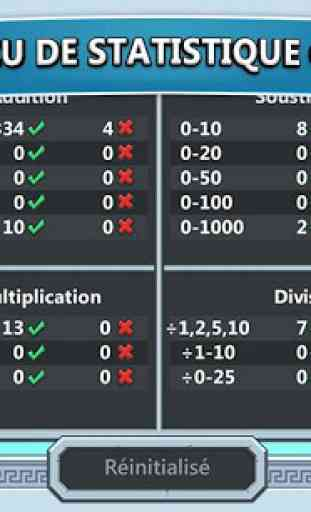 Jeux de maths Zeus vs monstres 4