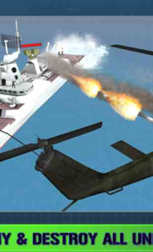 Navy Gunship Shooting 3D Game 2