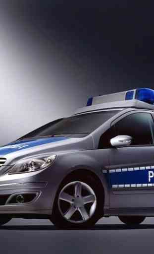 Voiture police Jigsaw Puzzle 1