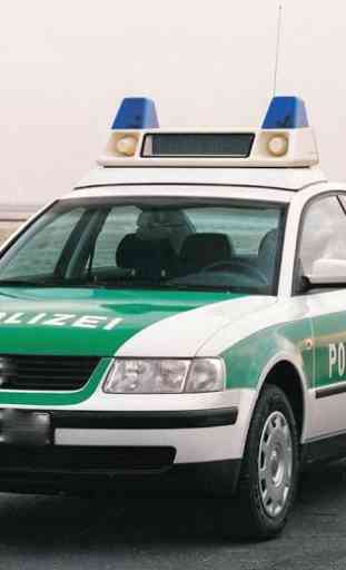 Voiture police Jigsaw Puzzle 2