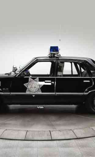Voiture police Jigsaw Puzzle 4