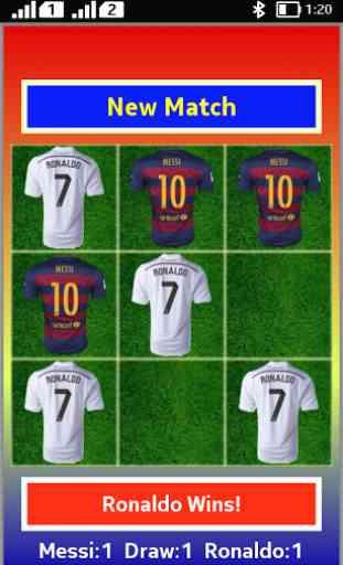 Tic Tac Toe Messi Vs Ronaldo 2