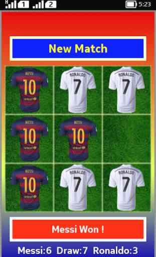 Tic Tac Toe Messi Vs Ronaldo 4