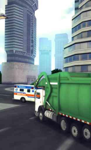 Garbage Truck Simulator 2016 2