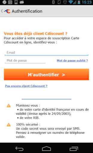 Carte Vip Cdiscount.Carte Cdiscount Application Android Allbestapps