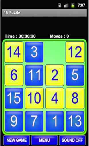 Puzzle 15 - Taquin 2