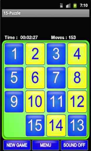 Puzzle 15 - Taquin 3