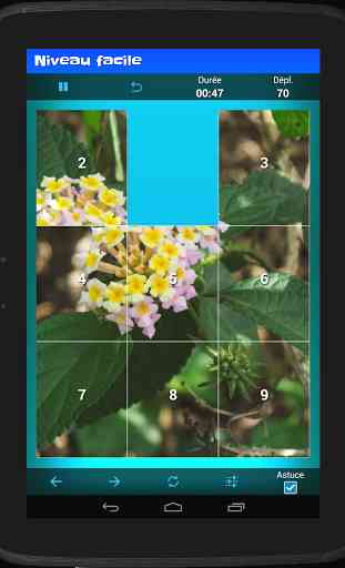 Puzzle coulissant (taquin) 1