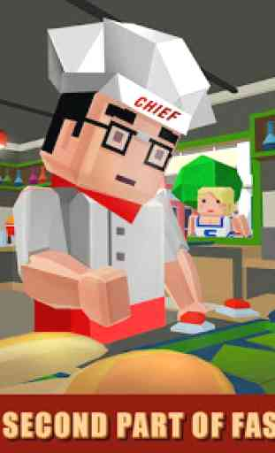 Burger Chef: Cooking Sim - 2 1