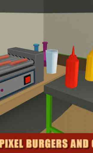 Burger Chef: Cooking Sim - 2 4