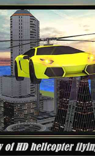 Helicopter Flying Car 4