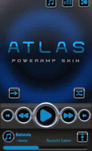 Atlas Poweramp skin 1