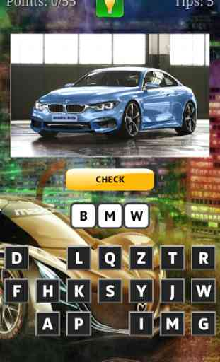 Cars Quiz 3