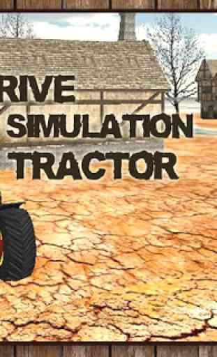 Entraînement Tracteur 1