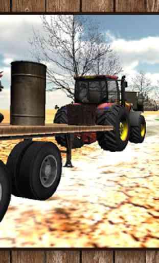 Entraînement Tracteur 3