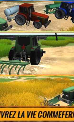 Ferme Tracteur conducteur Sim 1