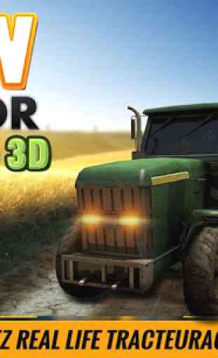 Ferme Tracteur conducteur Sim 2