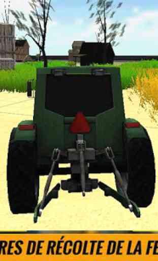 Ferme Tracteur conducteur Sim 3