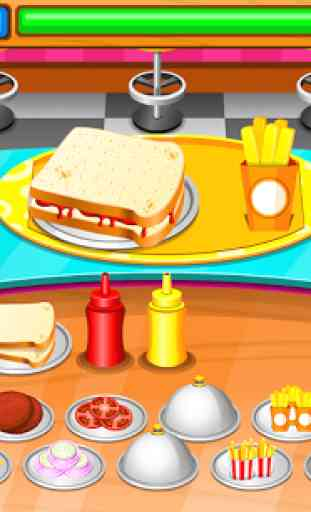 Restaurant de sandwiches 2