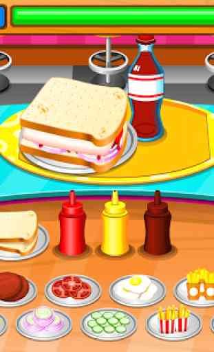 Restaurant de sandwiches 3