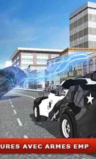 Volant Police voiture électric 2