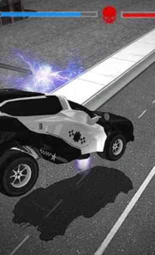 Volant Police voiture électric 3