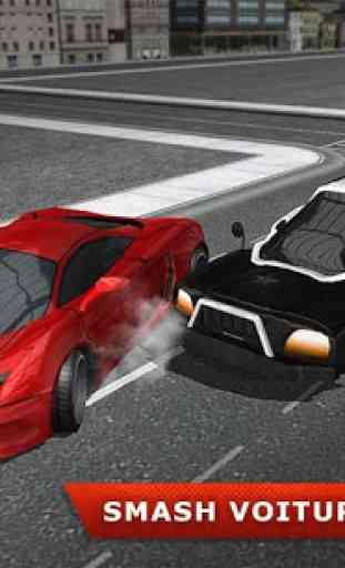 Volant Police voiture électric 4