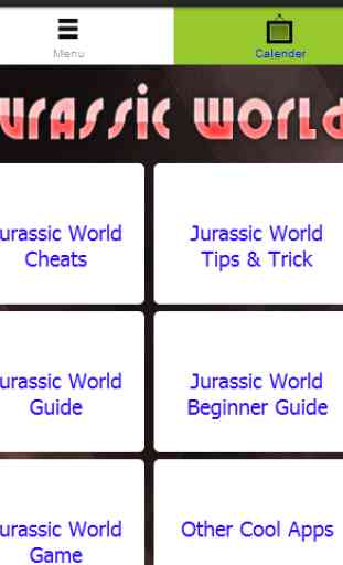 New Jurassic World Cheats Free 1