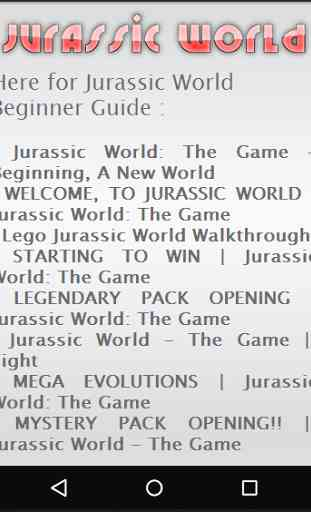 New Jurassic World Cheats Free 2