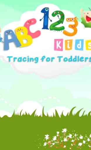 Abc 123 Tracing for enfants 1