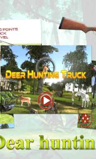 Camion de chasse cerf 3