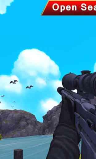 cerf chasse 3D tireur d'élite 2